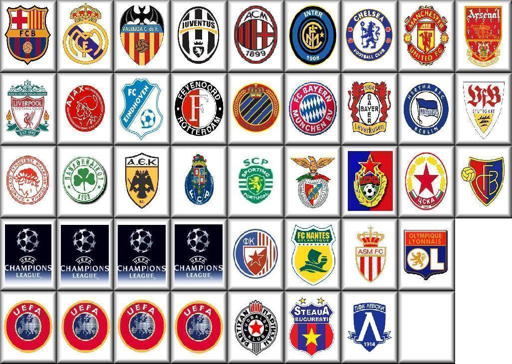 european soccer teams logosInternational Soccer Logos