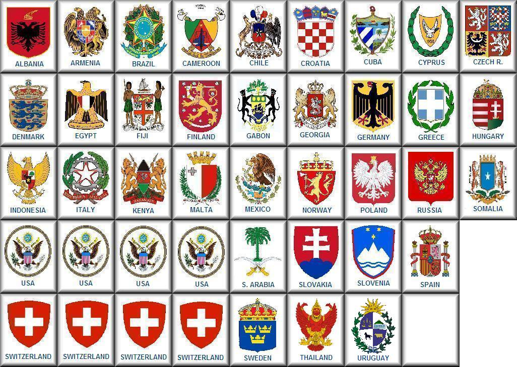 German Names Coat Of Arms